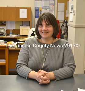 Bremen's newest deputy clerk, Julie Cruz. (D. Lobkowicz photo)