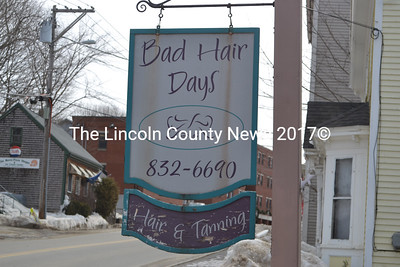 Bad Hair Days salon in Waldoboro is closing its doors for good March 31. ( & lincolncountynews Photo Keywords: MDS Pezcame.Com