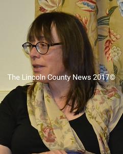Former Alna Treasurer Honora Perkins agreed to  serve as  interim treasurer following Aaron Miller's resignation Wednesday, April 22. (Abigail Adams photo)