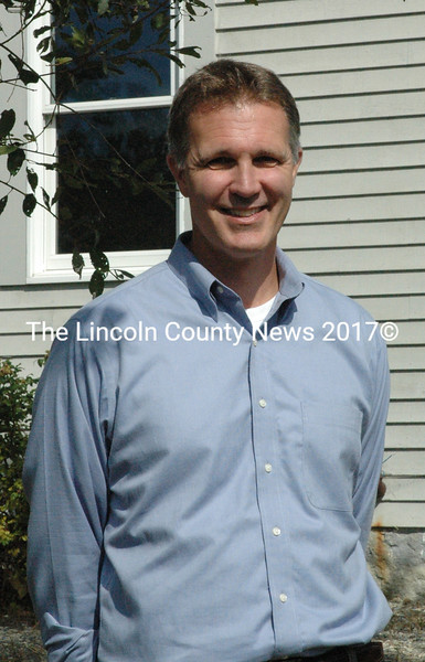 Bath-native Peter Wagner joined Lincoln Academy as the Director of the Lincoln Fund Aug. 10. (Maia Zewert photo)