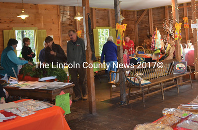 A variety of items were available inside the Bremen Town House during the Bremen Country Fair Oct. 3. (Alexander Violo photo)