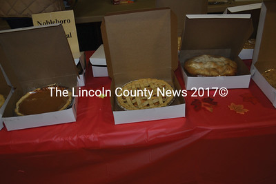 A variety of home-made pies were available during Applefest. (Alexander Violo photo)