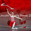 """The Candy Canes perform in Midcoast Dance Studio's """"Land of the Sweets and Sparkling Holidays"""" recital at Medomak Valley High School in Waldoboro Saturday, Dec. 5. From left: Shelby Lash, Addison Vermillion, and Emily Sanborn. (Eleanor Cade Busby photo)"""