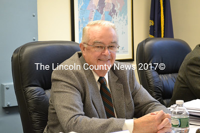 Lincoln County Commissioner William Blodgett was appointed by his fellow commissioners to serve on the Maine County Commissioners Association Risk Pool. Blodgett also represents the county on the association's board of directors. (Charlotte Boynton photo)