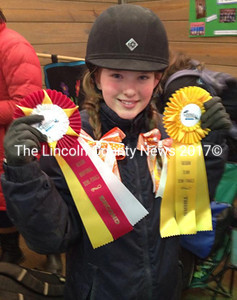 Reserve Champion Ella Villeneuve