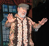 """Nick Azzaretti performs """" If I Were a RIch Man"""" as Tevye from """"Fiddler on The Roof."""" """"I never got to do the role here, but I can offer this as a farewell performance,"""" he said. """"Through playful and creative work, the Boothbay Playhouse grew into a true community of artists. I will miss it."""""""