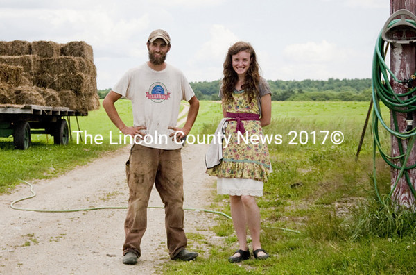 Ben and Taryn Marcus at Sheepscot General Farm and Store in Whitefield. The Marcuses are featured in the film