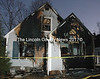 A house at 57 Lakeview Road in Boothbay Harbor after a Christmas night fire. (J.W. Oliver photo)