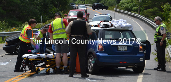Two Injured in South Bristol Crash - The Lincoln County News