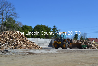 The Steele Landscaping facility on the Gardiner Road in Wiscasset now has a permit to sell firewood and have a wood pile on the location. The Wiscasset Planning Board approved Kevin Steele's request to add the sale of firewood to his landscaping business at the board's meeting Monday, May 9. (Charlotte Boynton photo)