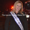 Mrs. Wiscasset, Sharon Jacques, was on hand for the Wiscasset Fire Department open house Oct. 12. Jacques will represent Wiscasset in the Mrs. Maine pageant in the spring. (Charlotte Boynton photo)