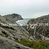 The cliffs at Monhegan from Lobster Cove. (Eleanor Cade Busby photo)