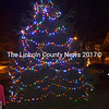 The tree-lighting ceremony in Wiscasset announces the begining of the holiday season. (Abigail Adams photo)
