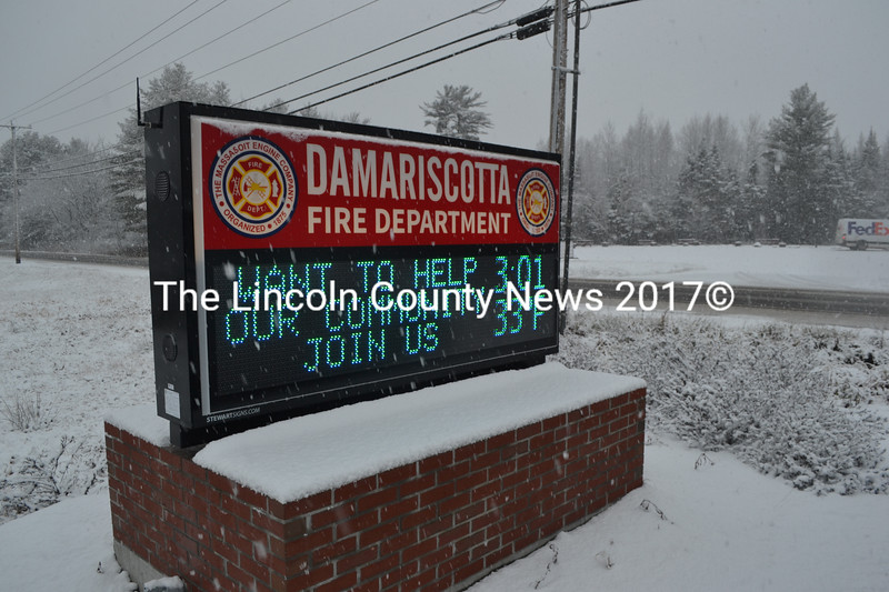 The Massasoit Engine Co. has sent letters to Damariscotta residents asking for donations toward its purchase of a replacement vehicle. (Maia Zewert photo)