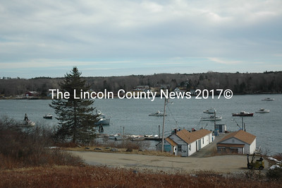 The Pemaquid Fisherman's Co-op property spans 6 acres with 670 feet of shorefront frontage and a restaurant. The co-op was sold to Pemaquid Seafood Real Estate LLC in January and now operates under the name Pemaquid Seafood and Simmons Lobster. (Maia Zewert photo)