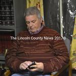 Stan Waltz attends an Alna Planning Board meeting in January 2015. (LCN file photo)