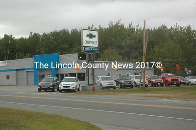 Tucker Chevrolet opened for business in Waldoboro on Tuesday, Sept. 6. (Alexander Violo photo)