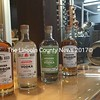 Split Rock Distilling's line of organic liquors includes bourbon, horseradish vodka, and 150-proof vodka. (Maia Zewert photo)