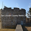 """The replica of Fort William Henry at the Colonial Pemaquid State Historic Site. In a Feb. 14 letter to Friends of Colonial Pemaquid President Don Loprieno, Gov. Paul LePage said a lease agreement between the nonprofit and the state for the management of the site is """"off the table."""" (Maia Zewert photo)"""