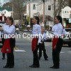 The Renys Rockets perform a dance routine on Main Street in Damariscotta on Saturday, Nov. 25. (J.W. Oliver photo)