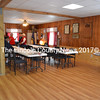 The new banquet room at the Bradford-Sortwell-Wright Post in Wiscasset. (Charlotte Boynton photo)