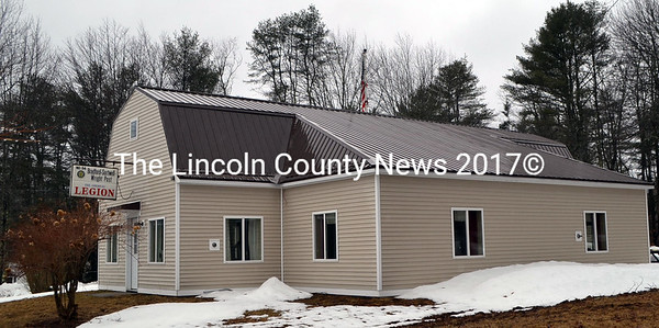 The Bradford-Sortwell-Wright Post in Wiscasset has a new metal roof and new siding. (Charlotte Boynton photo)