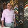 Michael Nussbaum is the new owner of Salt Bay Framers in Damariscotta. (Maia Zewert photo)
