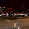 The drivers of two vehicles in a head-on collision on Route 1 in Wiscasset the evening of Thursday, April 20 were transported to hospitals in Brunswick and Portland. (Abigail Adams photo)