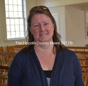 New Edgecomb School Comittee member Heather Sinclair. (Abigail Adams photo)