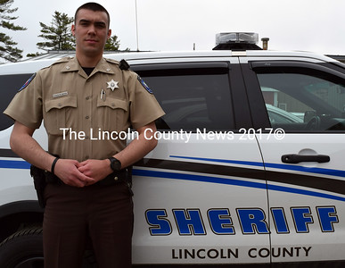 Lincoln County Sheriff's Deputy Chase Bosse. (J.W. Oliver photo)