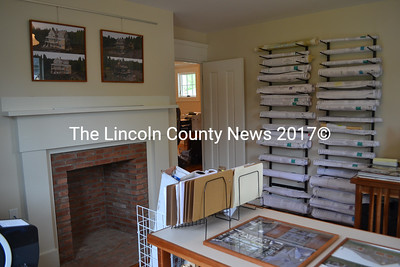 One of the offices inside Phelps Architects Inc.'s new headquarters at 278 Main St. in Damariscotta. Husband-and-wife team Dan and Michelle Phelps recently completed a year-long renovation of the early 19th-century building. (Maia Zewert photo)