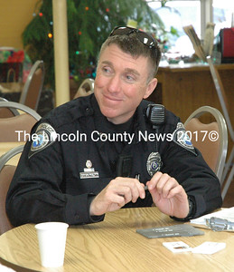 Officer Erick Halpin (Maia Zewert photo, LCN file)