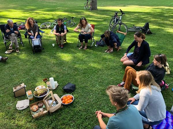 Board Meeting Breakfast August 2018