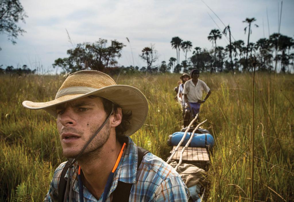 Gregg, Botswana. Courtesy of James Kydd/Wild Bird Trust.