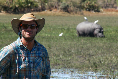 Gregg- Happy to be in hippo land.