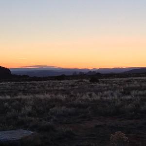 sunrise from Lone mesa Photo Jenna Walenga