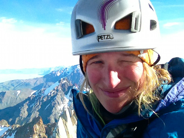 ASC Marketing and Communications Manager Emily Stifler Wolfe on Aguja Poincenot, Patagonia, Argentina