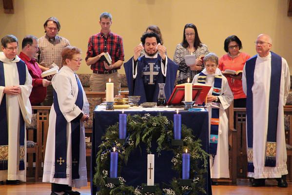 Celebrating Javier's Ordination