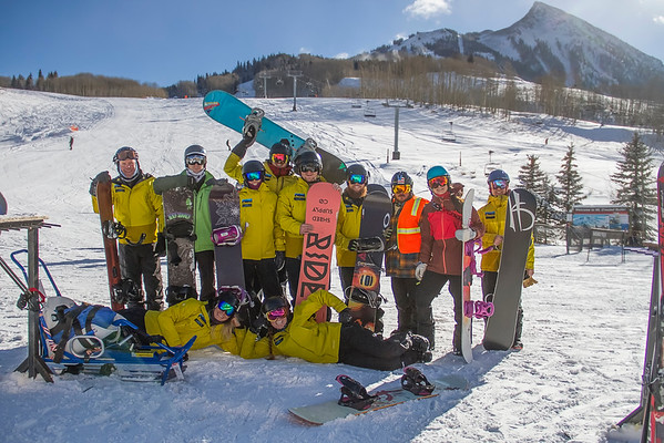 Adaptive Snowboard Clinic December 2016
