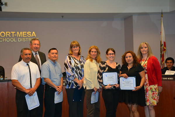 Classified Employees of the Year 2014