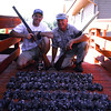 Jamie, George and doves from Sept. shoot - Bighorn River