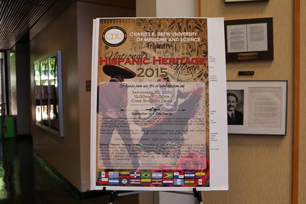 Hispanic Heritage Month 2015