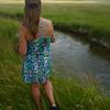 "Theresa fishing ""Denny Creek"""