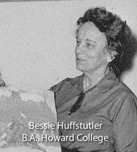 Huffstutler, Bessie