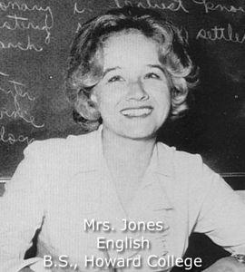 Jones, Mrs