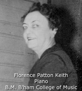 Keith, Florence Patton