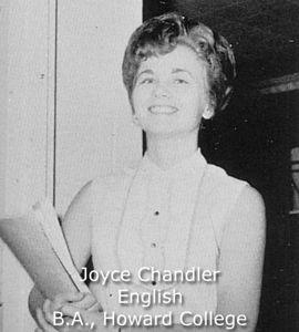 Chandler, Joyce