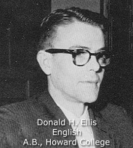 Ellis, Donald