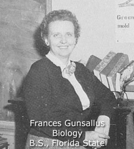Gunsallus, Frances