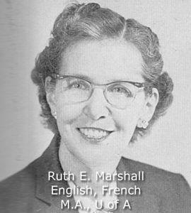 Marshall, Ruth